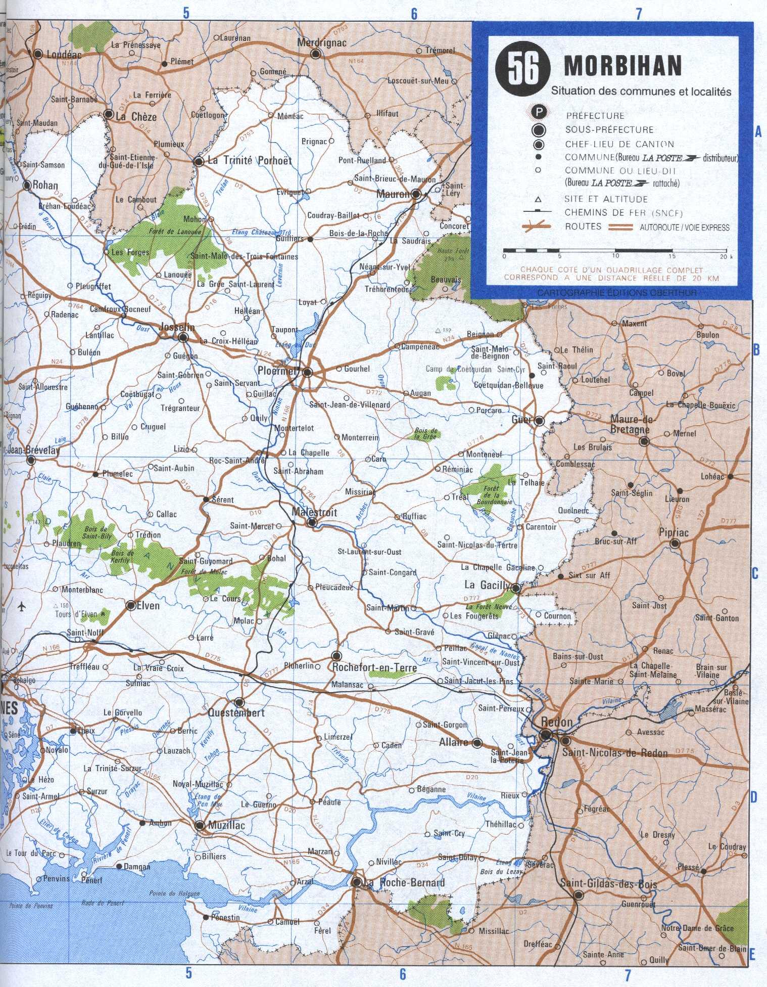 Carte 56 - moitié Ouest (532 ko)